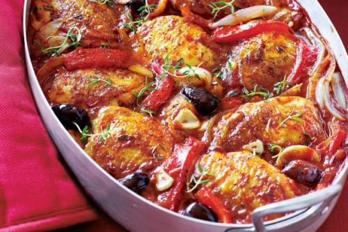 mediterrán csirke